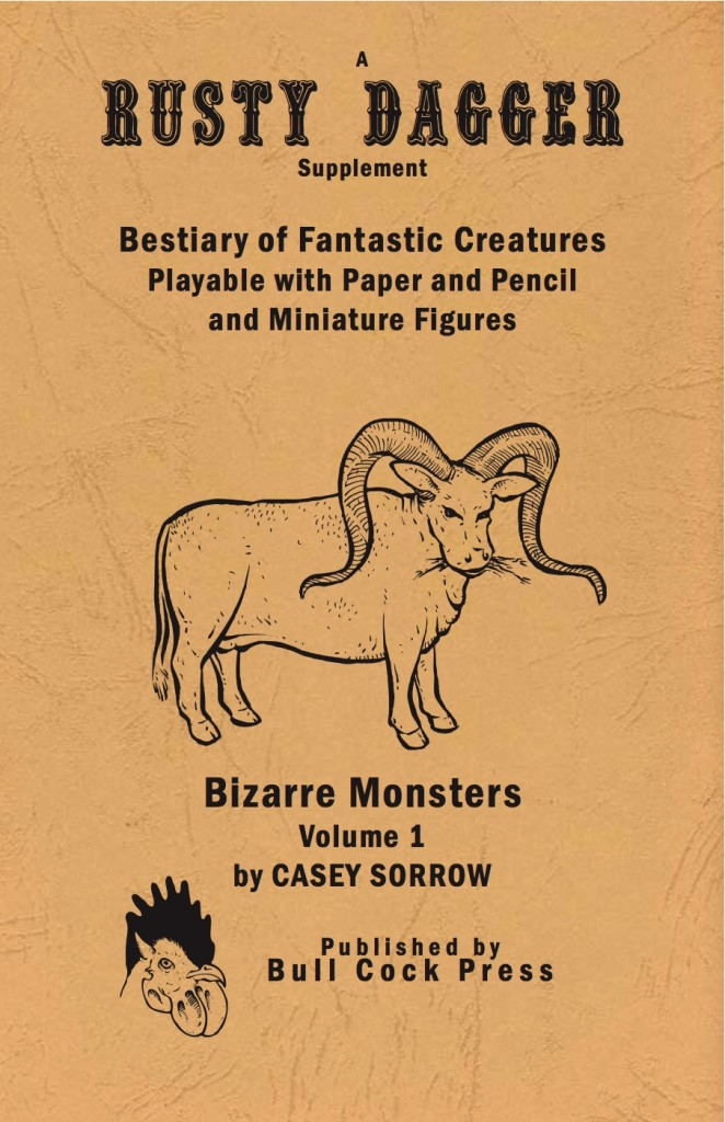 The Bestiary of Fantastic Creatures Volume 1: Bizarre Monsters
